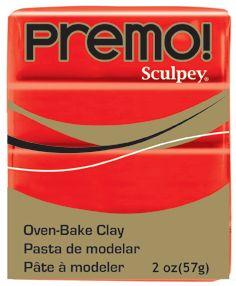 `PREMO` USA - Професионална серия полимерна глина - Cadmium Red , 2oz