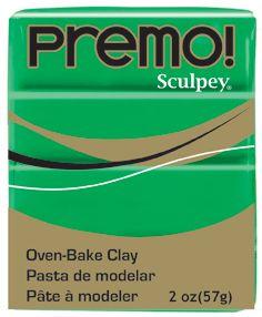 `PREMO`  USA - Професионална серия полимерна глина - Green, 2oz