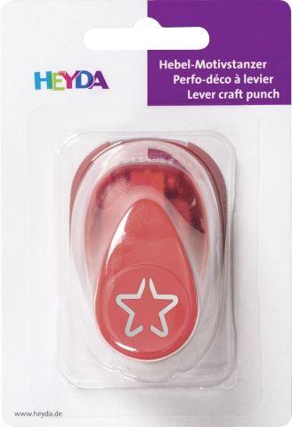 HEYDA Punch  17mm - Дизайн пънч Звездичка 3D