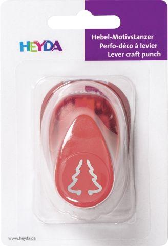 HEYDA Punch  17mm - Дизайн пънч ЕЛХА 3D