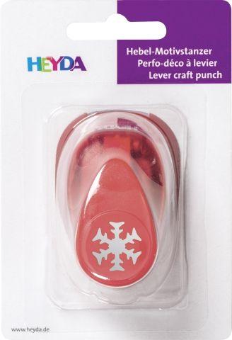 HEYDA Punch  17mm - Дизайн пънч Снежинка