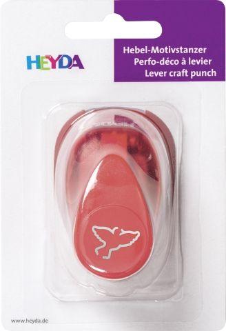 HEYDA Punch  17mm - Дизайн пънч Птица 3D
