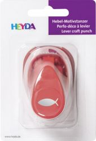 HEYDA Punch  17mm - Дизайн пънч РИБА S