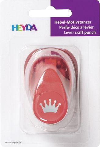 HEYDA Punch  17mm - Дизайн пънч КОРОНА S