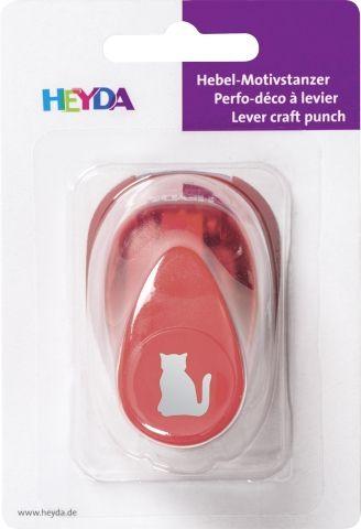 HEYDA Punch  17mm - Дизайн пънч КОТКА S