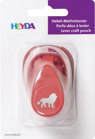 HEYDA Punch  17mm - Дизайн пънч ЛЪВ S