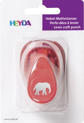 HEYDA Punch  17mm - Дизайн пънч СЛОН S