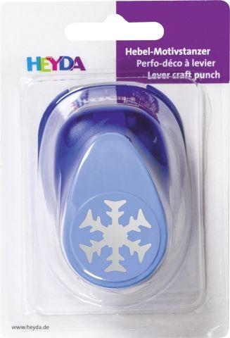 HEYDA Punch 25mm  - Дизайн пънч СНЕЖИНКА