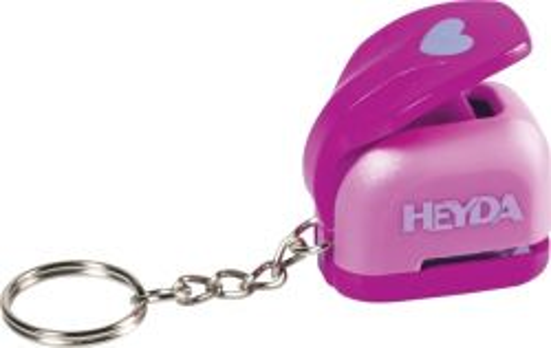 HEYDA Punch - keychain  10mm - Дизайн пънч ключодържател  Сърце XS