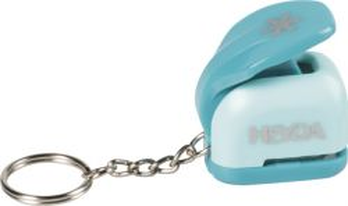 HEYDA Punch - keychain  10mm - Дизайн пънч ключодържател Снежинка XS