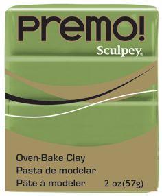 `PREMO` USA - Професионална серия полимерна глина - Spanish Olive, 2oz