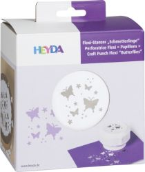 HEYDA FLEXI Punch  40mm - Дизайн пънч BUTTERFLIES
