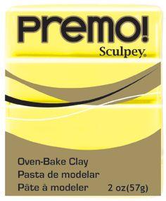 `PREMO` USA - Професионална серия полимерна глина - Sunshine , 2oz
