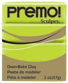 `PREMO` USA - Професионална серия полимерна глина -  Wasabi, 2oz