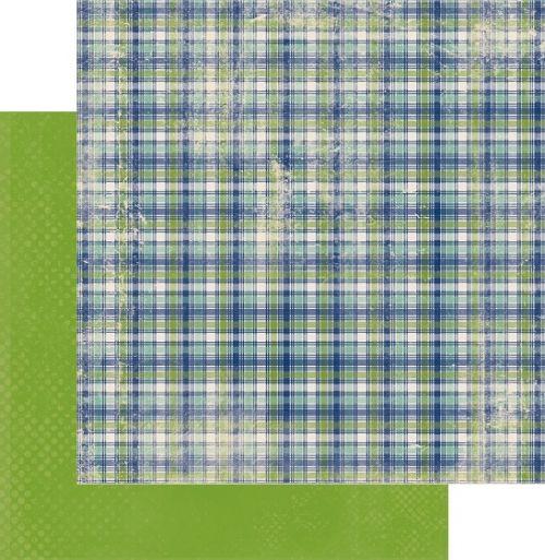 AUTHENTIQUE USA #  NOBLE - Дизайнерски скрапбукинг картон 30,5 х 30,5 см.