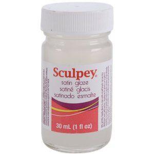 GLAZE SATIN Sculpey, USA - Лак/Глазура за полимерна глина - Сатен гланц