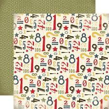 CARTA BELLA USA # ROUGH & TOUGH - Дизайнерски двустранен скрапбукинг картон 30,5 х 30,5 см.
