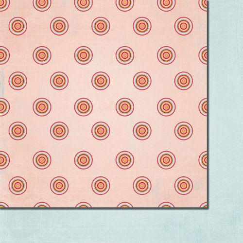 FANCY PANTS USA # LOVE BIRDS - Дизайнерски двустранен скрапбукинг картон 30,5 х 30,5 см.