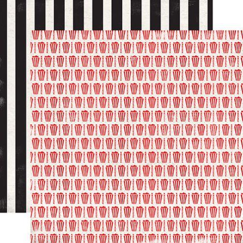 CARTA BELLA USA # CIRCUS PARTY - Дизайнерски скрапбукинг картон 30,5 х 30,5 см.