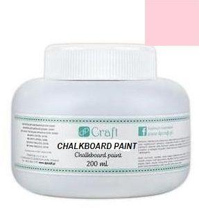 CHALKBOARD PAINT - Специална боя `ЧЕРНА ДЪСКА` 200 мл. ПАСТЕЛНО РОЗОВО