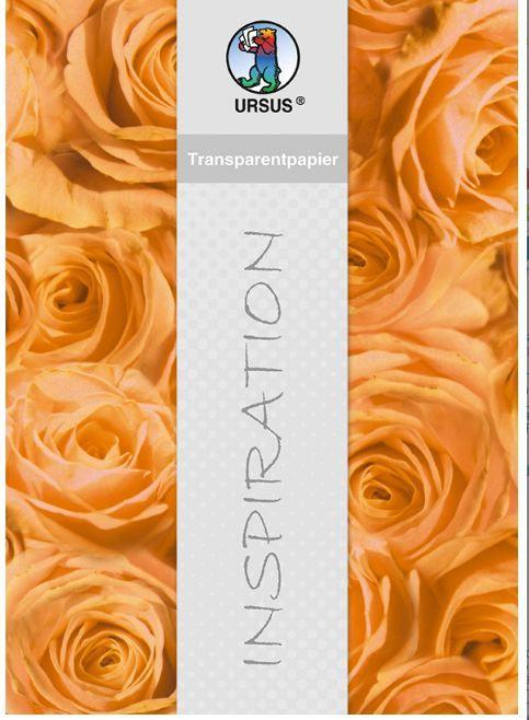 Ursus, Germany - Фигурален цветен паус 115 гр. - 50х61см - Рози