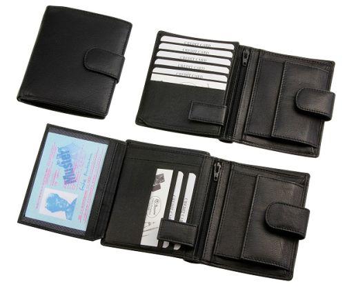 Мъжки портфейл от естествена кожа -HK Germany