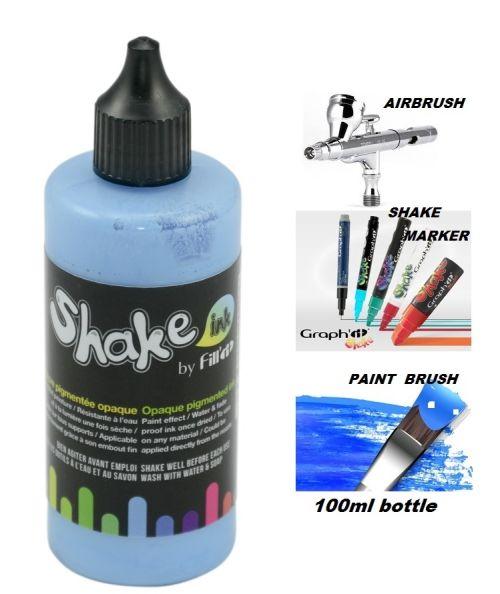 SHAKE IT ACRYLIC INK - Акрилно мастило за AIRBRUSH , SHAKE МАРКЕРИ и четка - SKY