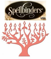 Spellbinders USA NEW - шаблон за изрязване и ембос s2-122Н - ОФЕРТА