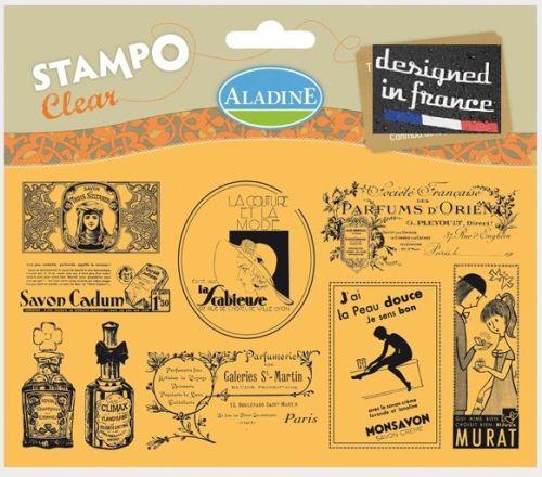ALADINE STAMPS XL  France - Дизайнерски печати комплект 11Х19см