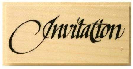 ALADINE STAMP C - Гумен печат на дървено блокче 00833