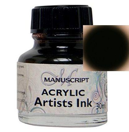 MANUSCRIPT ARTIST ACRYLIC  INK - SEPIA