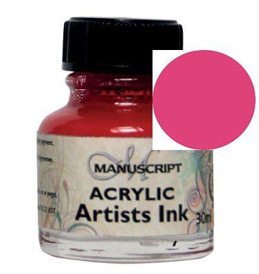 MANUSCRIPT ARTIST ACRYLIC  INK - PINK
