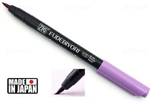 FUDEBIYORI BRUSH PEN * JAPAN - маркер четка LIGHT VIOLET