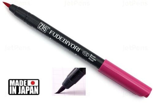 FUDEBIYORI BRUSH PEN * JAPAN - маркер четка DARK PINK