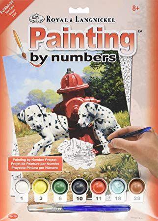 R&L USA  A4 #  Peek-A-Boo - Рисуване по номера  PJS80
