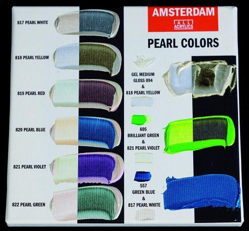 AMSTERDAM ACRYLIC - Акрилна боя за живопис 120 мл. - PEARL VIOLET 821