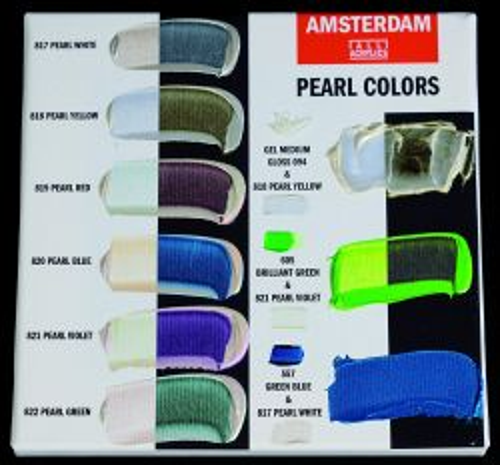 AMSTERDAM ACRYLIC - Акрилна боя за живопис 120 мл. - PEARL GREEN 822