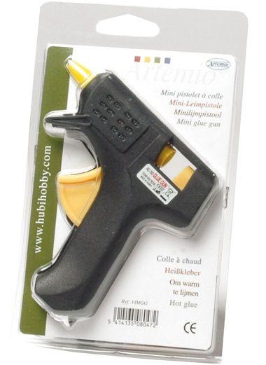 GLUE GUN ARTEMIO 7mm - Мини пистолет за силикон за фина работа ОРИГИНАЛЪТ