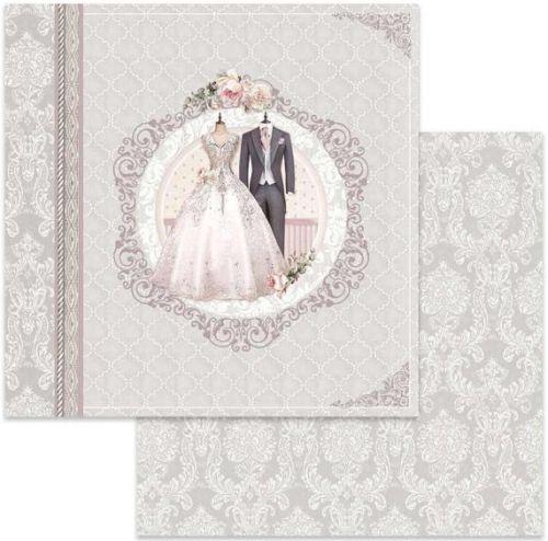 Stamperia ScrapArt - Дизайнерски скрапбукинг картон 30,5 х 30,5 см.