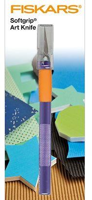 FISKARS Softgrip ART KNIFE  - Прецизен скалпел FISK6711