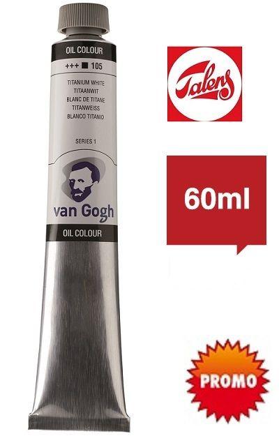 # Van GOGH Oil 60 - Маслена боя 60мл - Титан бяла / 105