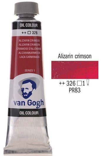 Van GOGH Oil - Маслена боя 40мл II серия - Ализарин кримсън / 326