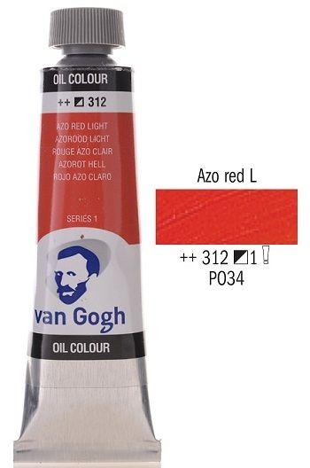 Van GOGH Oil - Маслена боя 40мл - Червена светла / 312
