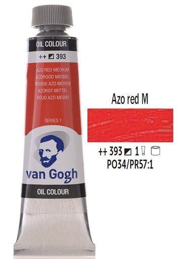 Van GOGH Oil - Маслена боя 40мл - Червена средна / 393