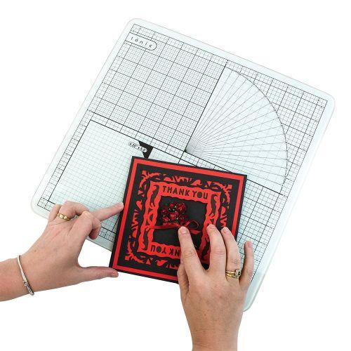 Glass cutting mat - Подложка за рязане от закалено стъкло 35х35 см