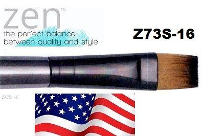 ZEN 73 Flat, USA - Профи `плоска` четка за различни техники №16