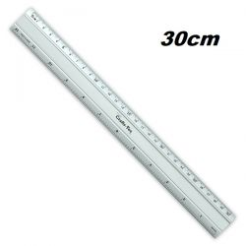 ALUMINIUM RULER 30 - Алуминиева линия 30 см