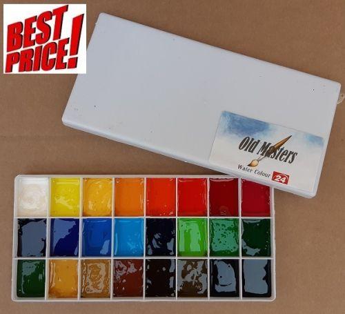 OLD MASTERS Watercolours 24 -  Художнически акварелни бои 24цв