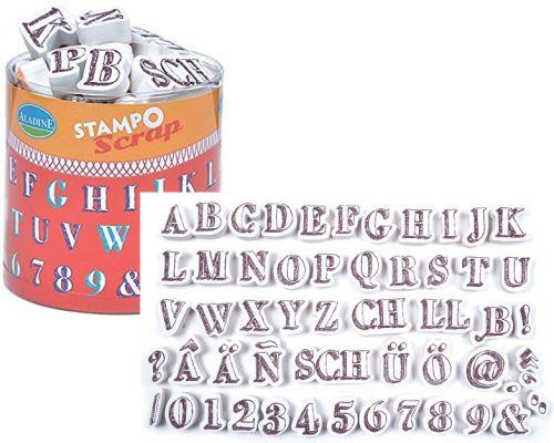 ALADINE STAMPO Scrap - Комплект гумени печати 03727