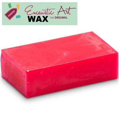 Encaustic WAX - Блокче цветен восък за Енкаустика № 37 NEON PINK